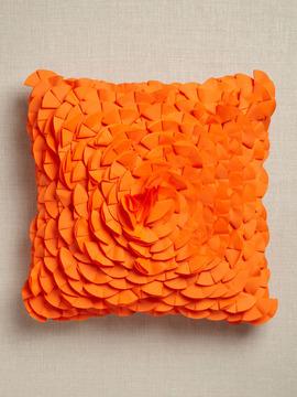 7.10.10 half moon laser cushion orange